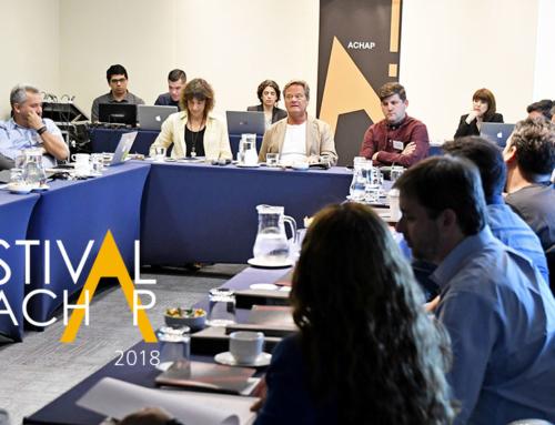 El diálogo creativo reinó durante jura presencial del Festival ACHAP 2018