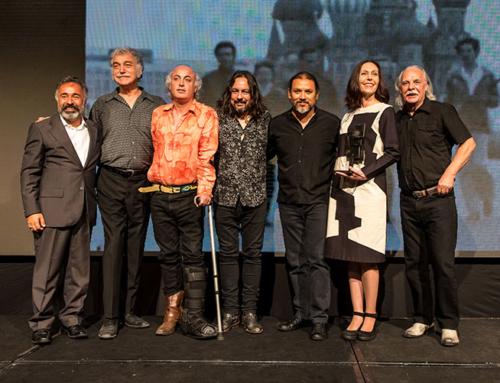 Los Jaivas y Alberto Israel fueron distinguidos con el Árbol de la Creatividad 2018