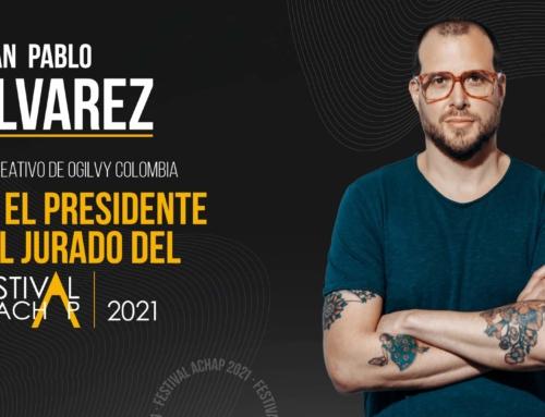 Juan Pablo Álvarez, Presidente del Jurado Festival ACHAP 2021